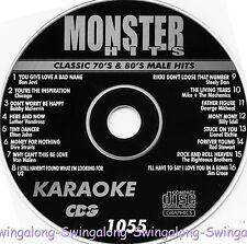 Monster Hits Karaoke CD+G vol-1055/ Van Halen,chicago,Bon Jovi,Elton John,U2+