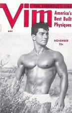 Vim Vol.1 No.7 November 1954, Vintage Male Beefcake Magazine
