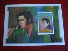 THE GAMBIA - 1992 ELVIS PRESLEY - MINISHEET UNMOUNTED MINT MINIATURE SHEET