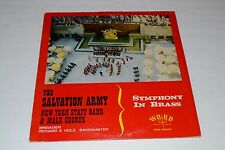 The Salvation Army~New York Staff Band & Male Chorus~Symphony In Brass~FAST SHIP