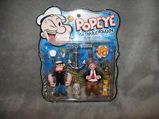 Mezco POPEYE The Sailorman - Popeye Himself & J. Wellington Wimpy MOSC MOC 2004