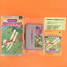 SKY MISSION BOX Nintendo Super Famicom Japan SNES SFC JP Vido Game USED D20-2