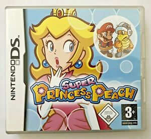 Super Princess Peach (Nintendo DS, 2006) mit Anleitung und Originalverpackung