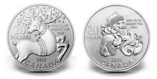 Canada $20 Fine Silver Coins - Perfect Christmas Gift