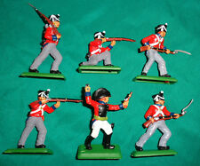 BRITISH INFANTRY Napoleonic War set DSG Plastic Toy Soldiers ARGENTINA Britains