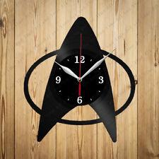 Vinyl Clock Star Trek  Handmade Vinyl Wall Clock Home Art Decor Original Gift