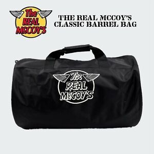 The Real McCoy Duffel Traveling Gym Barrel Bag RRL