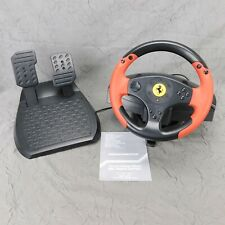 ThrustMaster Ferrari Racing Wheel Red Legend Edition PS3 / PC 4060052 Clean Used