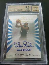 2012 - 2013 Leaf Signature Inscriptions Blue #FE1 Festus Ezeli RC AUTO