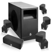Pyle 5.1 Home Theater Passive Audio System Four Satellite, Center Channe