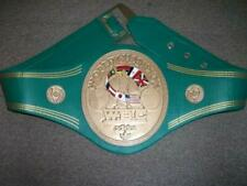 WBC WORLD CHAMPION REPLICA BELT 4 MM BRASS PLATES ADULT FULL SIZE
