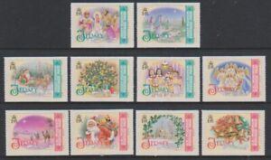 Jersey - 2007, Christmas set - 2008 Imprint - MNH - SG 1339/48