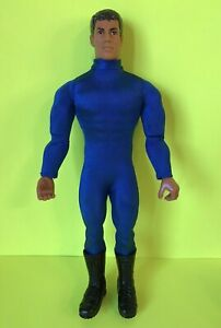 1/6 Scale Male Blue Slim Tight Stretch Bodysuit Clothes F 12'' Figure Doll Toy