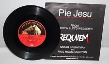 "7"" Single - Sarah Brightman - Pie Jesu - HMV WEBBER1 - 1985"