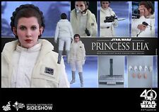 Hot Toys Star Wars MMS423 Princess Leia ESB Empire Hoth 1/6 Collectible Figure