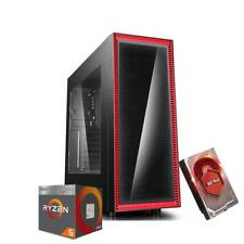 PJDIGITALSTORE ( 1TB, AMD Ryzen 2400G, 3.90 Ghz, 8GB) Desktop - Nero