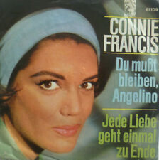 "7"" 1964 Connie Francis devi restare Angelino MINT -?"