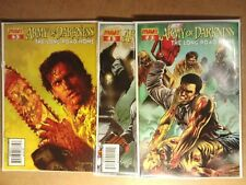 Army of Darkness The Long Road Home #5 #6 #7 #8  2005