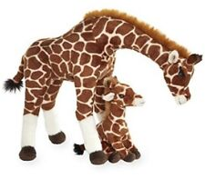 Save The Giraffes Mother and Baby Plush Giraffe Set NEW Toys R Us Exclusive NWT