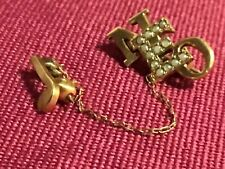 A&M College Pin Brooch Vintage Lovely 10K Northeastern Oklahoma