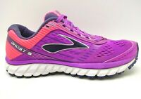 Brooks Ghost 9 Purple Mesh Lace Up Athletic Sport Running Shoes Women's 9.5 B