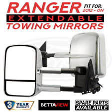 BettaView Extendable Caravan Towing Mirrors Ford Ranger 2012 To Current Models