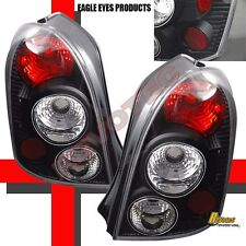 2002-2003 Mazda Protege-5 Protege5 Black Tail Lights 1 Pair