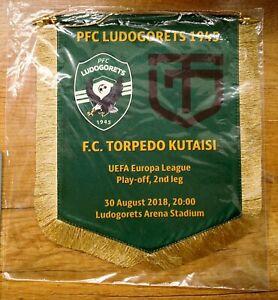PFC Ludogorets vs Torpedo Kutaisi UEFA Europa League match pennant