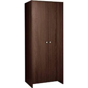 Seville 2 Door Wardrobe - Wenge Effect