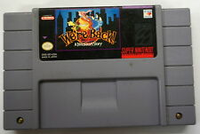 We're Back A Dinosaur's Story Video Game (Super Nintendo System, 1993)