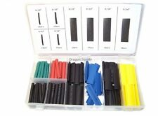 New 120 pc Heat Shrink Wire Wrap Assortment Set Tubing Electrical Color