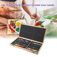 Delgreen 60 Colors Heavy Oil Pastel Oil Painting Stick Art Painting Crayon Set