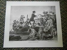 The Perry Picture 7249 Landing of Roger Williams Painting Alonzo Chappel Print
