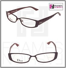 9ed381e3838 CHRISTIAN DIOR Very Lady CD3763 Havana Red Cannage Square 51mm RX Eyeglasses