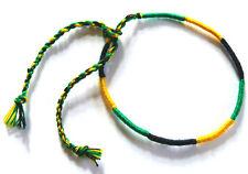 Bracelet brésilien Rasta Reggae Bob Marley Jamaique coton Friendship Brésil