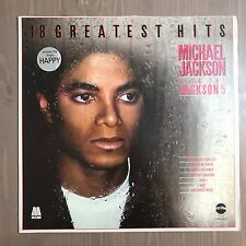 Michael JACKSON & THE Jackson 5 GREATEST HITS VINILE LP 1983 UK Best of