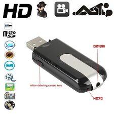CLE USB CAMERA ESPION 720x480 DETECTEUR DE MOUVEMENT 32 Go MAX DETECTION • FR •