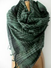 New UNISEX black yellow check tassel scarf Arab biker multi use