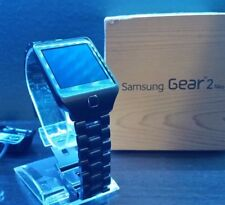 Samsung Galaxy Gear 2 Neo Smartwatch Watch SM-R3810 Custom Stainless Steel Black