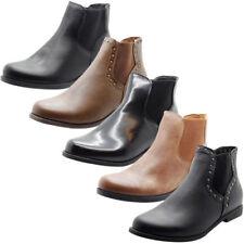 Block Synthetic Leather Standard Width (B) Heels for Women