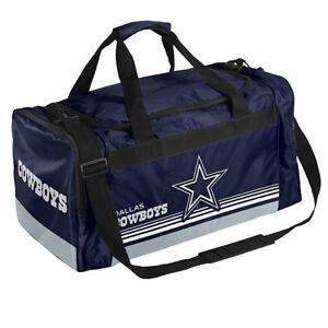 NFL Dallas Cowboys Striped Core Duffle Bag
