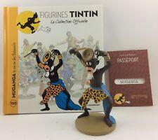 Collection officielle figurine Tintin Moulinsart 100 Muganga le sorcier