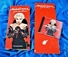 MADONNA  YOU CAN DANCE LONG BOX CD & PROMO LP / LONGBOX DIVIDER US 1987 LOT