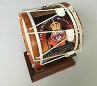 Battle of the Somme 36th Ulster Division Miniature Lambeg Drum on Display Stand