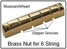 USA MADE MusicanAtHeart NO GLUE Brass Nut made for SCHECTER Guitar