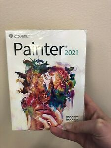 Corel Painter 2021 for Mac / Windows (Education Edition) Sealed Package