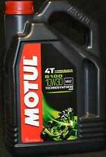 4 Liter Motul 5100 ester Motorrad Öl 4T Motoröl 10W30 teilsynthetisch 10W-30 MA2
