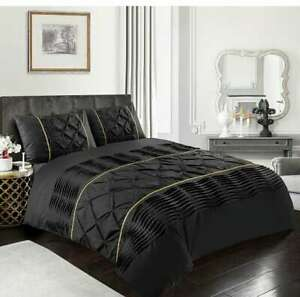 Luxury Duvet Cover Set Single Double King Super King Size Bedding Quilt Bed