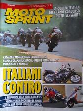 MOTOSPRINT n°24 1992 Honda Raiden 125 Test Ducati 350 SS Junior    [P60]