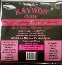 KAYWOS CLOTH - Zero Fiber - AMAZING!
